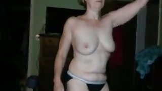 My kinky mettlesome GF demonstrates her willingness to strip on camera