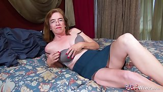 Several vids with profligate mature ladies going profligate home alone with toys