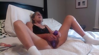 Nasty 60 Year old Granny Housewife Solo Video