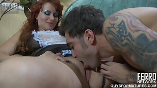 Ferro Raucous - Guys For Matures - Marianne Marcus